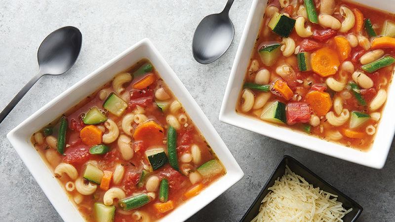 Comment réaliser une délicieuse soupe minestrone ?